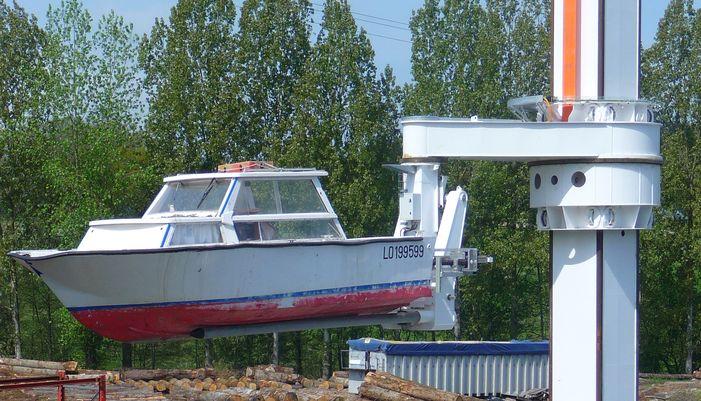 Automate de Lorient Port à sec
