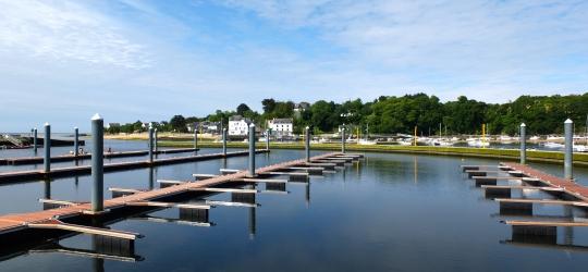 Ponton port de Guidel