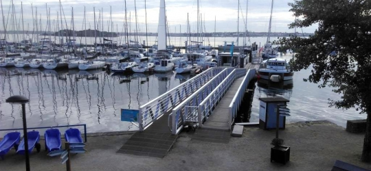 port, kernevel, travaux