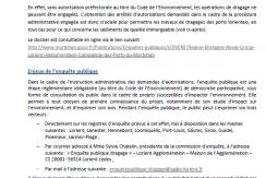 enquête publique dragage ports rade de Lorient