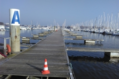ponton, travaux, port, kernevel