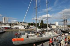 Tara au port de Lorient