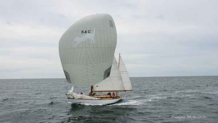 Yacht classique Pangur Ban