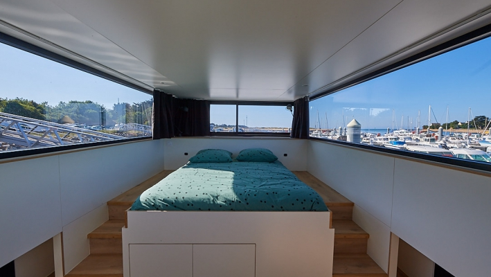 Lodge boat Bretagne
