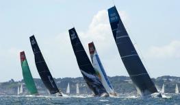 La Volvo Ocean Race devant l'Île de Groix