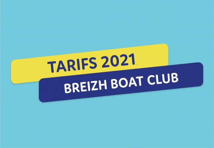 Tarifs breizh boat club