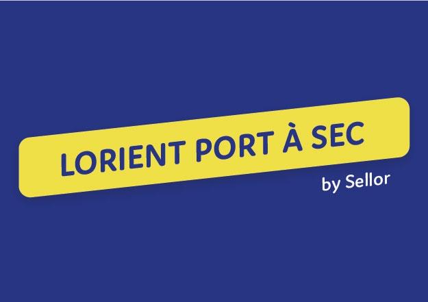 Plaquette Lorient port à sec
