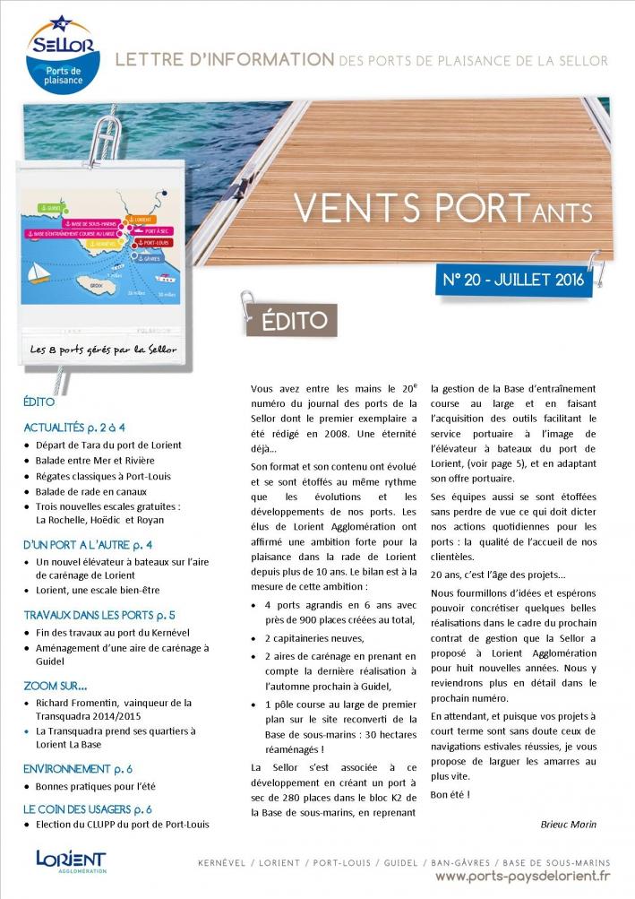 Journal d'information des ports de plaisance