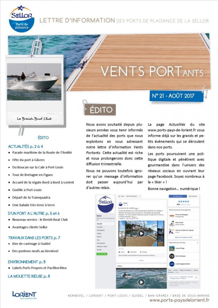 Vents Portants 21 ports Sellor